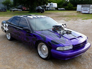 1991 Chev Caprice SS Coupe Fast Fun 468 w/671 Blower $22.9k