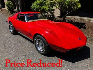 Picture of 1973 Corvette Stingray Coupe T-Tops LS5 Fast 454  AC $23.9k For Sale