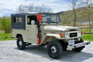 1980  Toyota FJ43 Land Cruiser Manual Gas Full Restored $obo