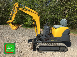1999 KOBLECO SK007 EXPANDING TRACK MICRO DIGGER SEE VID CAN DROP SOLD