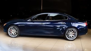 2015 Maserati Quattroporte SQ4 Sedan Blue(~)Ginger $38.9k