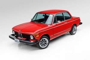 1974 BMW 2002 Sunroof Coupe Solid Red Driver Manual $23.5k For Sale