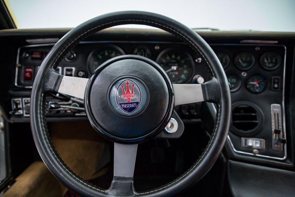 1977 Maserati Bora Coupe 4.9L = Rare 1 of 235 made $184.5k For Sale (picture 5 of 6)