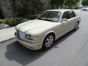 2002 Bentley Arnage 4 door Red Label only 33k miles $29.9k