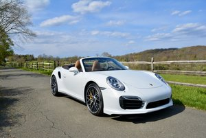 2016 Porsche 911 Turbo S Cabriolet 7 Speed PDK 6.9k miles
