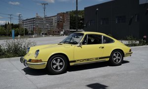 1970 Porsche 911T Coupe 2 liter 5 speed clean Yellow $65k For Sale