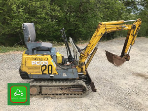 KOMATSU PC03 MICRO DIGGER ALL WORK SEE VIDEO UK DLEIVERY £99