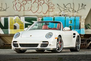 2011 Porsche 911 Twin Turbo Cabriolet 6 speed Manual $97.5k