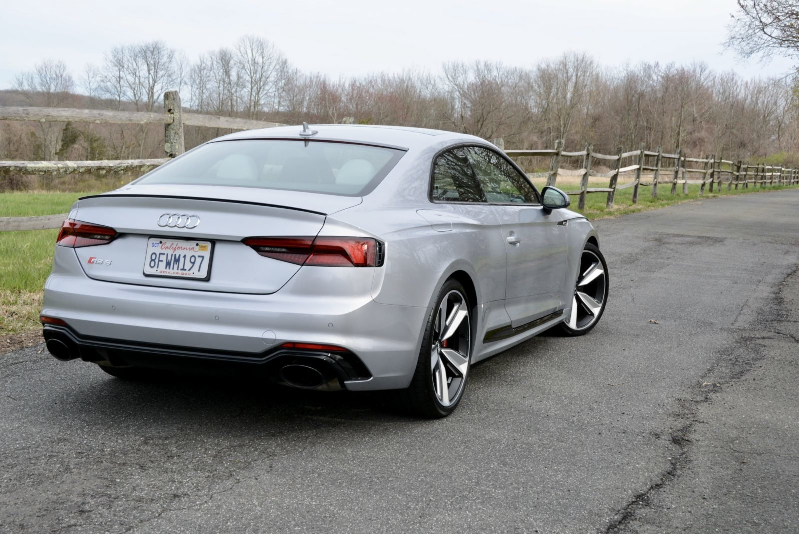 2018 Audi RS5 Coupe AWD Fast 444-HP 8 speed 1.4k miles $68.9 For Sale (picture 2 of 6)