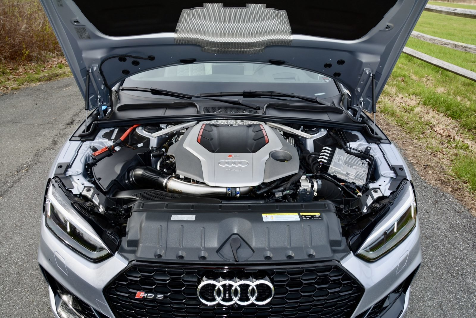 2018 Audi RS5 Coupe AWD Fast 444-HP 8 speed 1.4k miles $68.9 For Sale (picture 6 of 6)