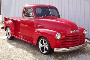 1949 chevy 3100 Pick-Up Truck All Custom 1 off build $39.9k For Sale