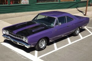 1968 Plymouth ROAD RUNNER Fast 440 auto Purple $34.5k For Sale