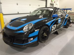 2009 Porsche 997 GT3 Factory Cup IMSA Gold Class Winning Car