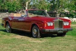 1983 Rolls-Royce Corniche Convertible clean Red(~)Tan $49.8k For Sale