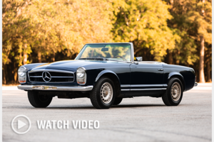 1967  Mercedes 250SL Pagoda Convertible 2 Tops Manual $49.2k For Sale