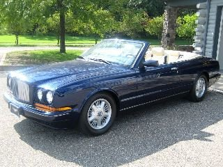 Picture of 1996 Bentley Azure Convertible Rare low 33k miles Blue $66.5 For Sale