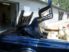 1996 Bentley Azure Convertible Rare low 33k miles Blue $66.5 For Sale (picture 3 of 6)