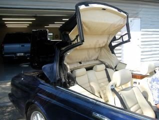1996 Bentley Azure Convertible Rare low 33k miles Blue $66.5 For Sale (picture 4 of 6)