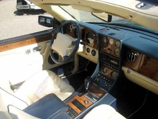 1996 Bentley Azure Convertible Rare low 33k miles Blue $66.5 For Sale (picture 6 of 6)