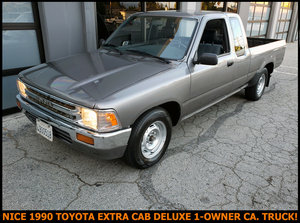 1990 Toyota Tacoma EXTENDED CAB Auto Grey AC Grey $8.5k For Sale