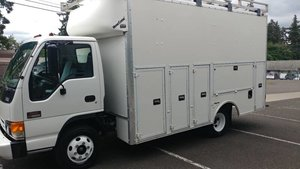 2002 GMC W4500 14 Toot Box Work Truck Diesel Auto $13.9k