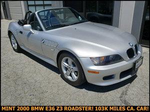 2000 BMW Z3 E36 Roadster Convertible Auto Silver $obo