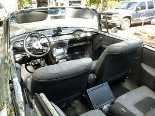 1955 Chevrolet Bel Air Convertible Custom Ram Jet 350 $92.5k For Sale (picture 3 of 6)