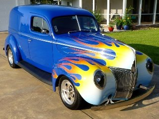 1941 Ford Sedan Delivery Wagon All Custom 350 AC  $47.5k