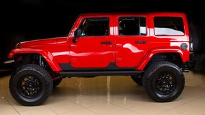 2017 Jeep Wrangler MOAB Unlimited 4x4 Many Mods $36.9k