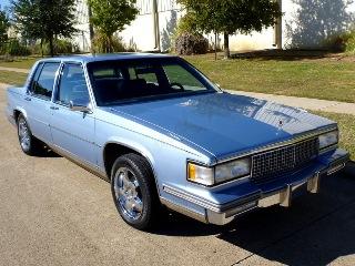 1987 Cadillac Sedan Deville Sedan 4 Door 14k miles Blue $7.9