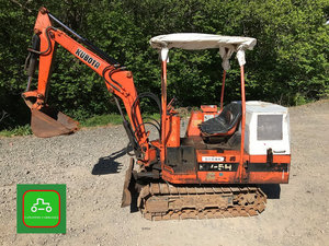 1980 KUBOTA 1 TON MINI DIGGER ALL WORKS TIDY LO HRS SEE VIDEO For Sale