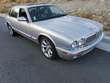 2001 Jaguar XJR Sedan SuperCharged Silver Driver $6.9k