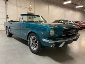 1965 Ford Mustang Convertible Rare 1 of 5 TURQUOISE $44.7k For Sale