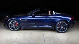 2015 Jaguar F-TYPE S Convertible Dark Sapphire(~)Tan $42.9k