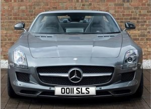 2011 Mercedes AMG SLS Private Number Plate: OO11 SLS For Sale