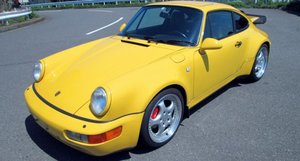 Picture of 1994 Porsche 964 Turbo 3.6 Coupe Sunroof Yellow  $obo For Sale