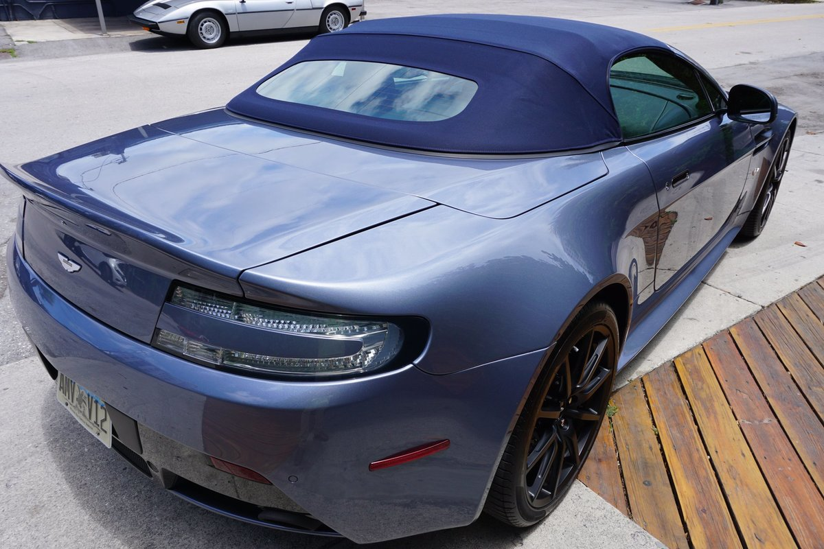 2017 Aston Martin Vantage V12 S Roadster Rare 1 of 7 manual $215k For Sale (picture 2 of 6)