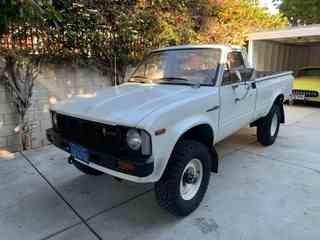 1980 Toyota Hilux Pick Up Truck 4X4 20-R Manual Tan $12.5k