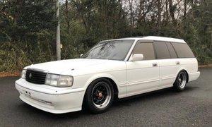 1993 Toyota Crown SDX Wagon 5 Door RHD with low 89k miles Iv