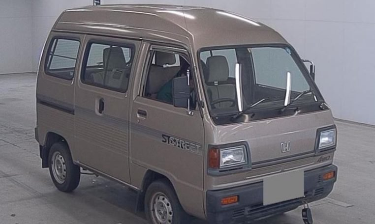 1989 Honda Acty Street Kei Van 4WD - RHD Gold Driver $obo For Sale (picture 2 of 6)