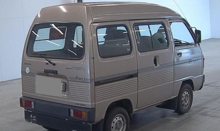 1989 Honda Acty Street Kei Van 4WD - RHD Gold Driver $obo For Sale (picture 3 of 6)