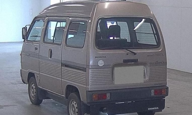 1989 Honda Acty Street Kei Van 4WD - RHD Gold Driver $obo For Sale (picture 6 of 6)