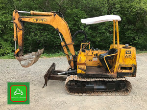 1984 YANMAR YB800 ALL WORKS 2 TON MINI DIGGER SEE VIDEO  SOLD