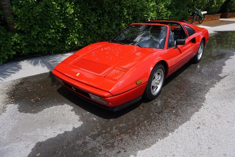 1988 Ferrari 328 GTS Spyder Targa Red Recent Service $89.5k For Sale (picture 1 of 6)
