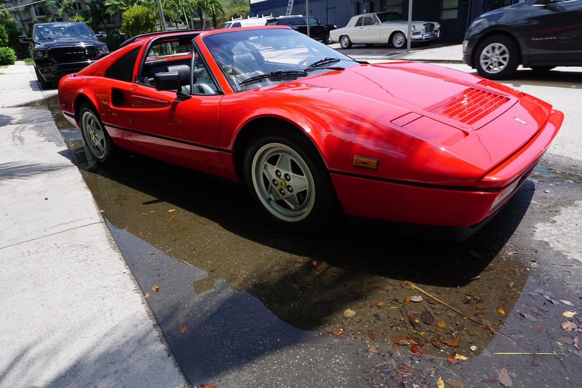 1988 Ferrari 328 GTS Spyder Targa Red Recent Service $89.5k For Sale (picture 2 of 6)