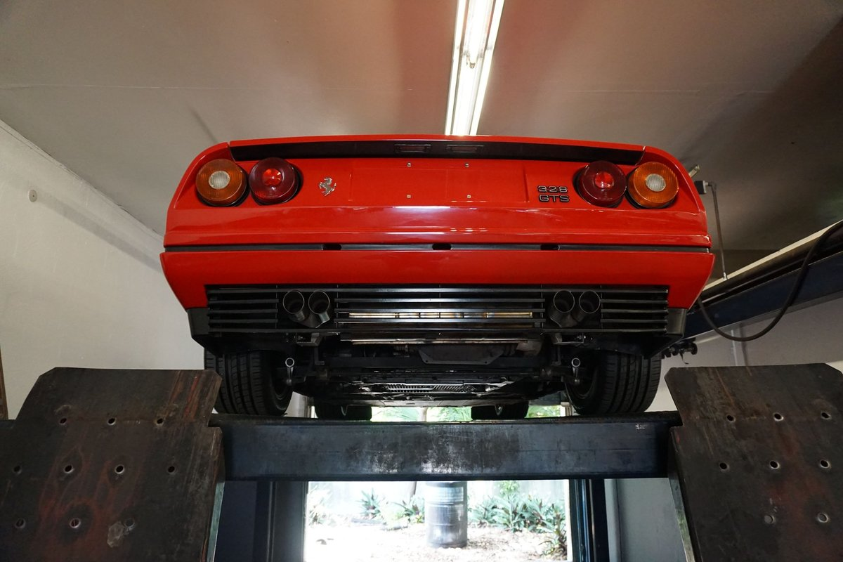1988 Ferrari 328 GTS Spyder Targa Red Recent Service $89.5k For Sale (picture 3 of 6)