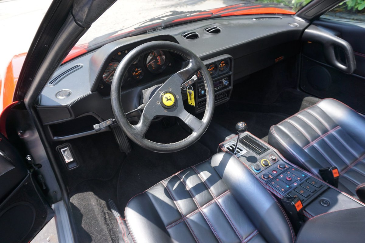 1988 Ferrari 328 GTS Spyder Targa Red Recent Service $89.5k For Sale (picture 5 of 6)