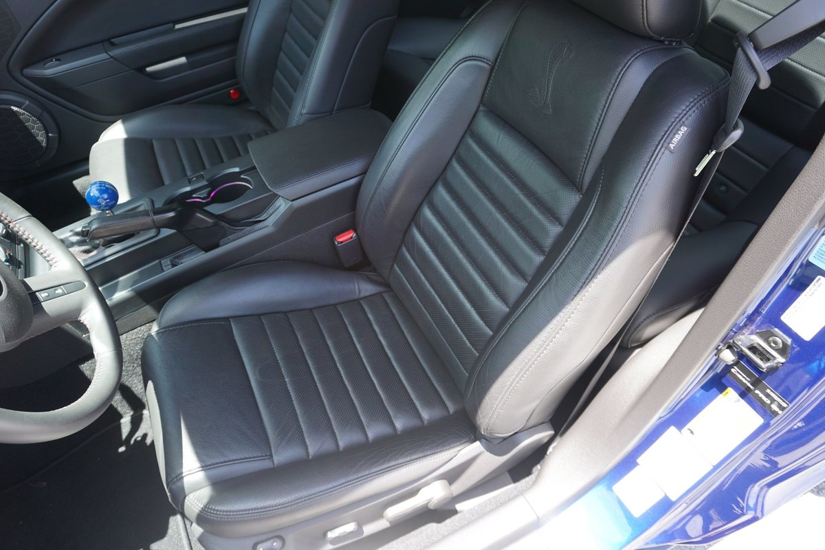 2008 Ford Mustang Shelby GT500 KR Rare + Fast Blue $68k For Sale (picture 4 of 6)