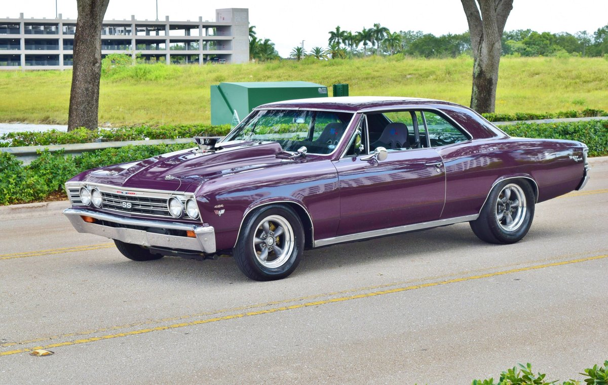 1967 Chevrolet Chevelle Malibu SS Fast 1000 HP TURBO $49.9k For Sale (picture 1 of 6)