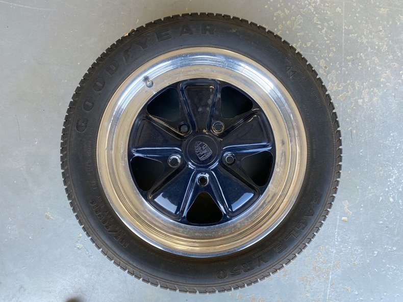 1970 Set of 4 6Jx16 OEM Porsche 911 Fuchs Wheels + Many More  For Sale (picture 1 of 6)
